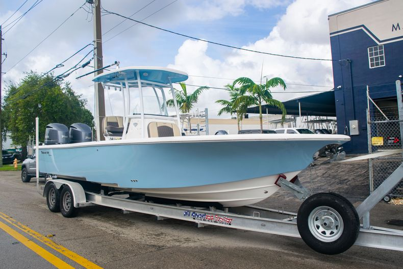 Thumbnail 1 for Used 2018 Tidewater 2700 Carolina Bay boat for sale in Miami, FL