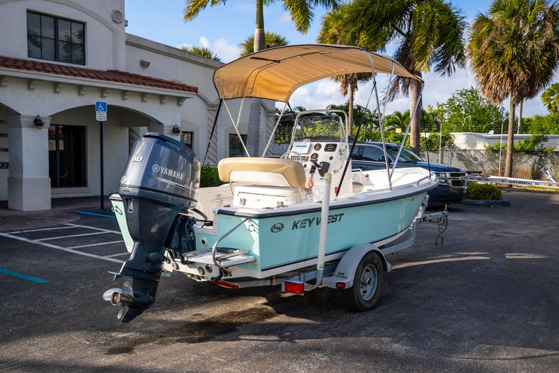 Thumbnail 10 for Used 2016 Key West 1720 Sportsman CC boat for sale in West Palm Beach, FL