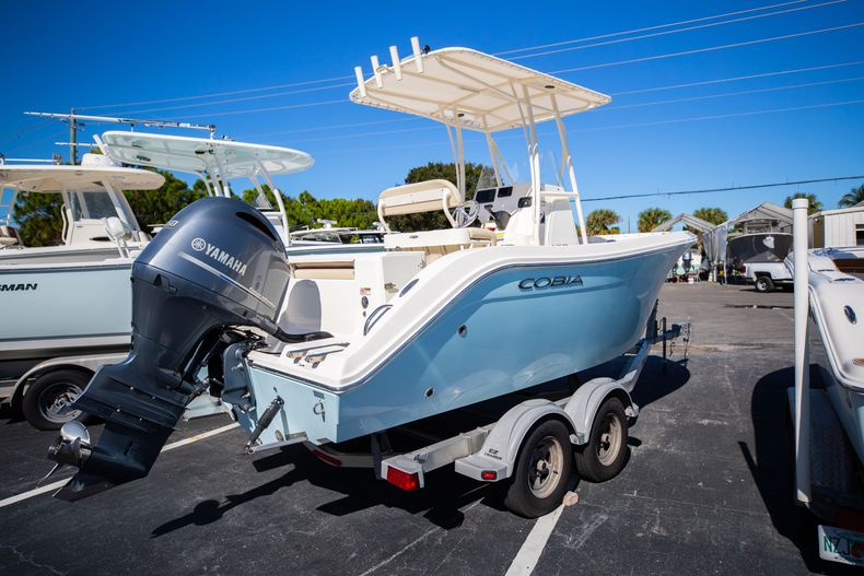 Thumbnail 2 for Used 2017 Cobia 201 CC Center Console boat for sale in West Palm Beach, FL