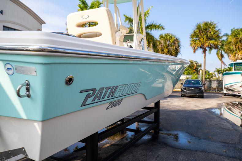 Thumbnail 11 for Used 2014 Pathfinder 2600 HPS Bay Boat boat for sale in West Palm Beach, FL