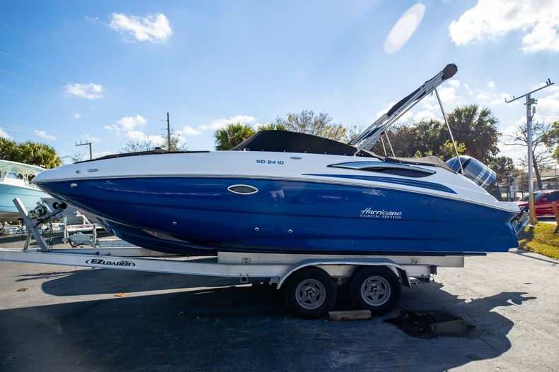 Image 1 for 2021 Hurricane SunDeck SD 2410 OB in West Palm Beach, FL