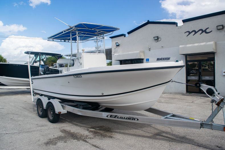 Thumbnail 1 for Used 2002 Dusky 203 Open Center Console boat for sale in Fort Lauderdale, FL