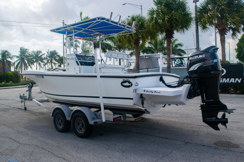 Thumbnail 5 for Used 2002 Dusky 203 Open Center Console boat for sale in Fort Lauderdale, FL