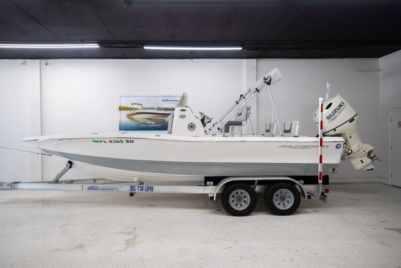 Thumbnail 1 for Used 2019 Aquasport 224 Bay boat for sale in Stuart, FL
