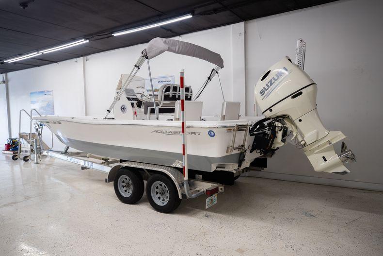 Thumbnail 2 for Used 2019 Aquasport 224 Bay boat for sale in Stuart, FL
