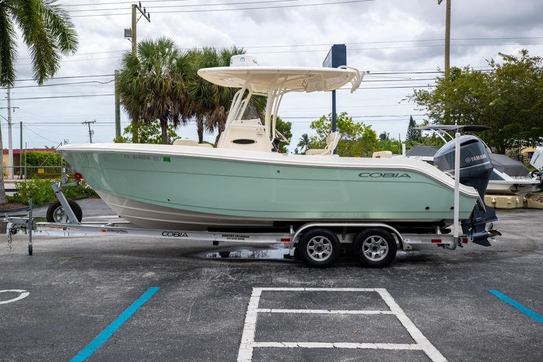 Thumbnail 4 for Used 2020 Cobia 237CC Center Console boat for sale in West Palm Beach, FL
