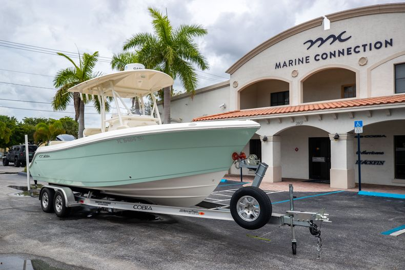 Thumbnail 1 for Used 2020 Cobia 237CC Center Console boat for sale in West Palm Beach, FL