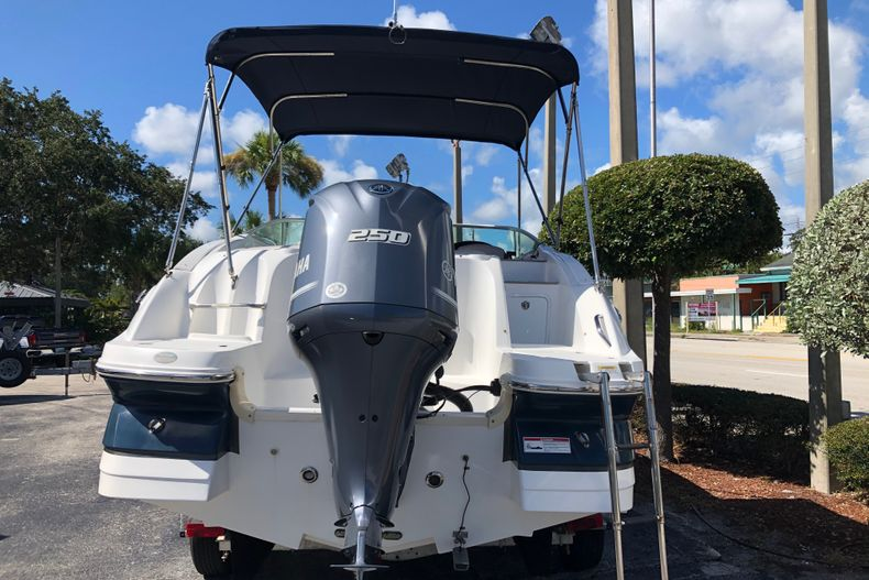 Thumbnail 4 for Used 2017 Hurricane 2400 Sundeck boat for sale in Vero Beach, FL