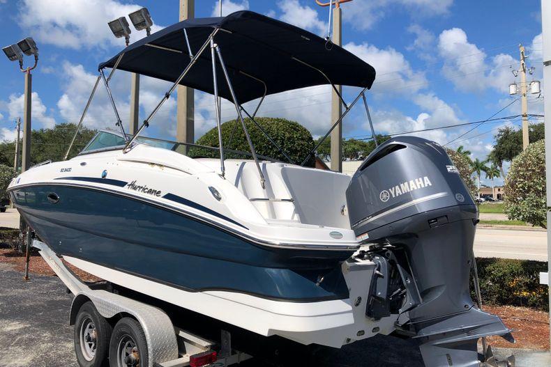 Thumbnail 3 for Used 2017 Hurricane 2400 Sundeck boat for sale in Vero Beach, FL