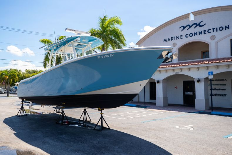 Thumbnail 1 for Used 2021 Cobia 320 CC boat for sale in West Palm Beach, FL