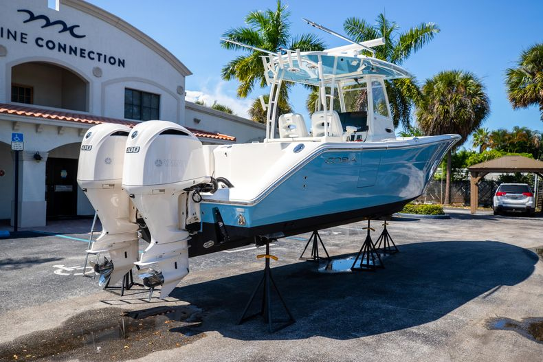 Thumbnail 10 for Used 2021 Cobia 320 CC boat for sale in West Palm Beach, FL