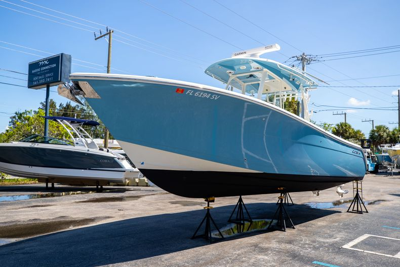 Thumbnail 4 for Used 2021 Cobia 320 CC boat for sale in West Palm Beach, FL