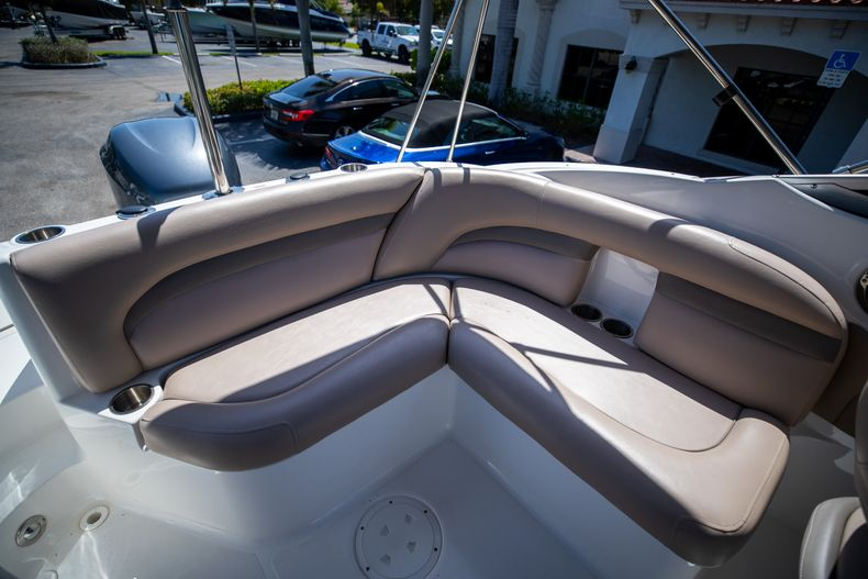 Thumbnail 16 for Used 2015 Hurricane SunDeck SD 2400 OB boat for sale in West Palm Beach, FL