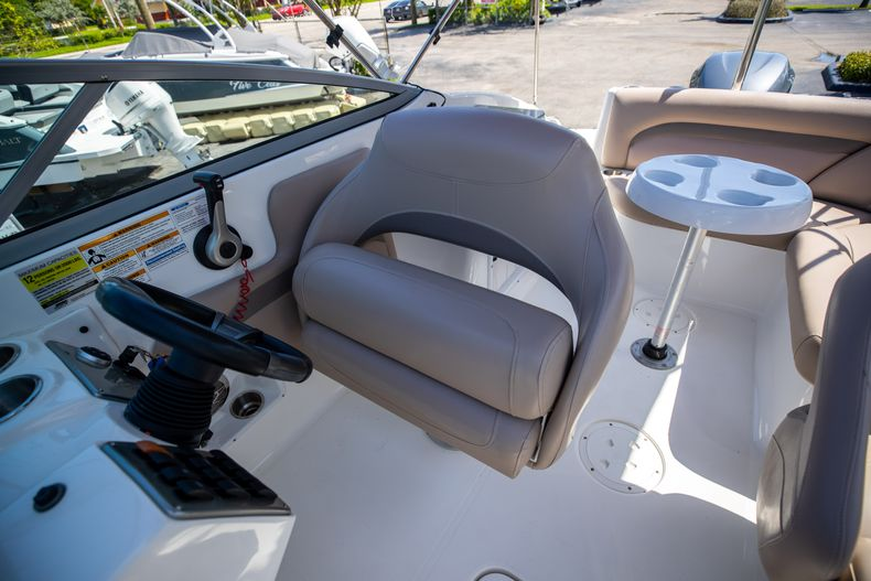 Thumbnail 30 for Used 2015 Hurricane SunDeck SD 2400 OB boat for sale in West Palm Beach, FL