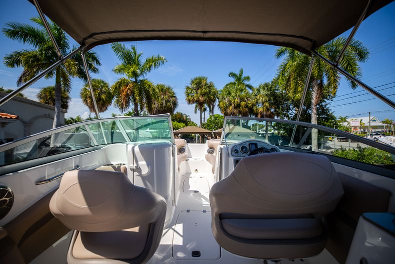 Thumbnail 13 for Used 2015 Hurricane SunDeck SD 2400 OB boat for sale in West Palm Beach, FL