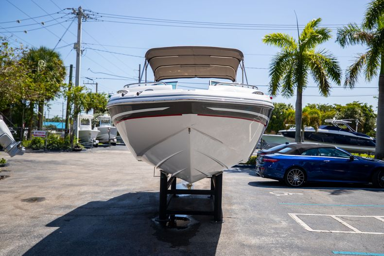Thumbnail 3 for Used 2015 Hurricane SunDeck SD 2400 OB boat for sale in West Palm Beach, FL