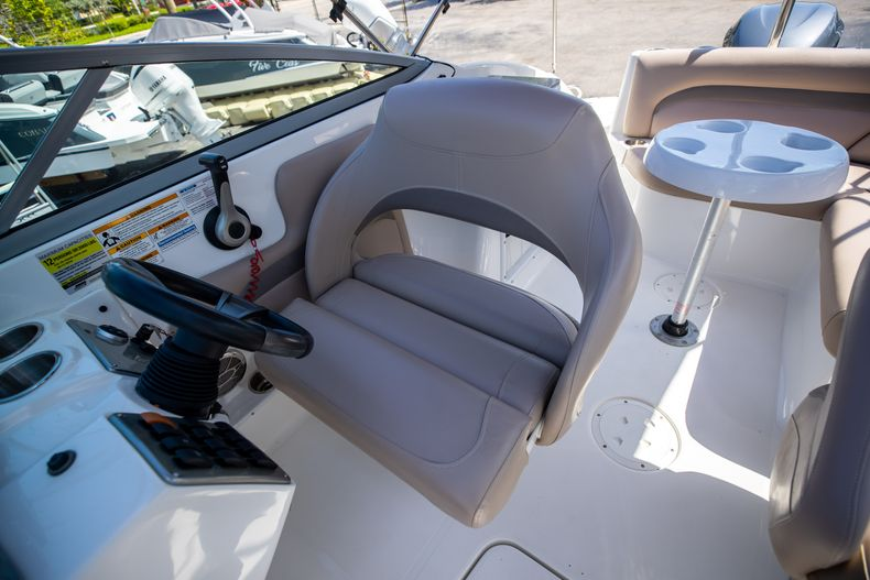 Thumbnail 31 for Used 2015 Hurricane SunDeck SD 2400 OB boat for sale in West Palm Beach, FL
