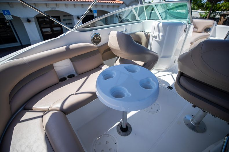 Thumbnail 15 for Used 2015 Hurricane SunDeck SD 2400 OB boat for sale in West Palm Beach, FL