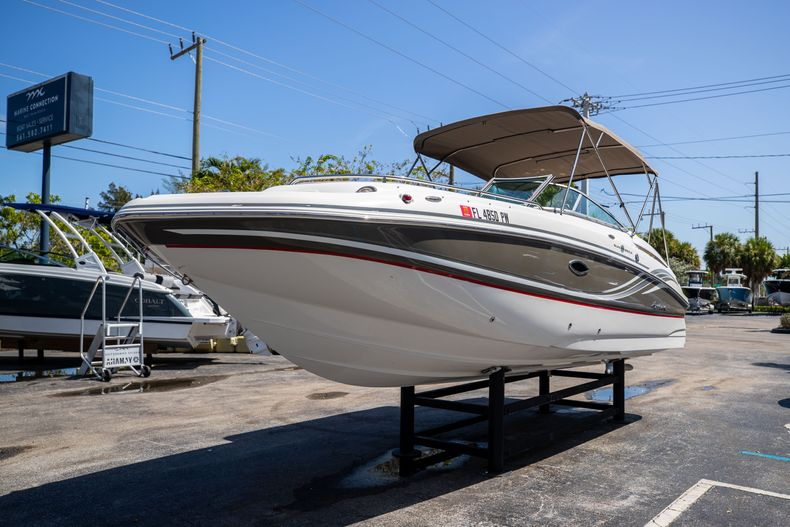 Thumbnail 4 for Used 2015 Hurricane SunDeck SD 2400 OB boat for sale in West Palm Beach, FL