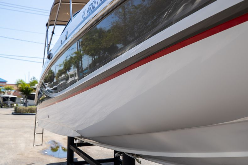 Thumbnail 2 for Used 2015 Hurricane SunDeck SD 2400 OB boat for sale in West Palm Beach, FL