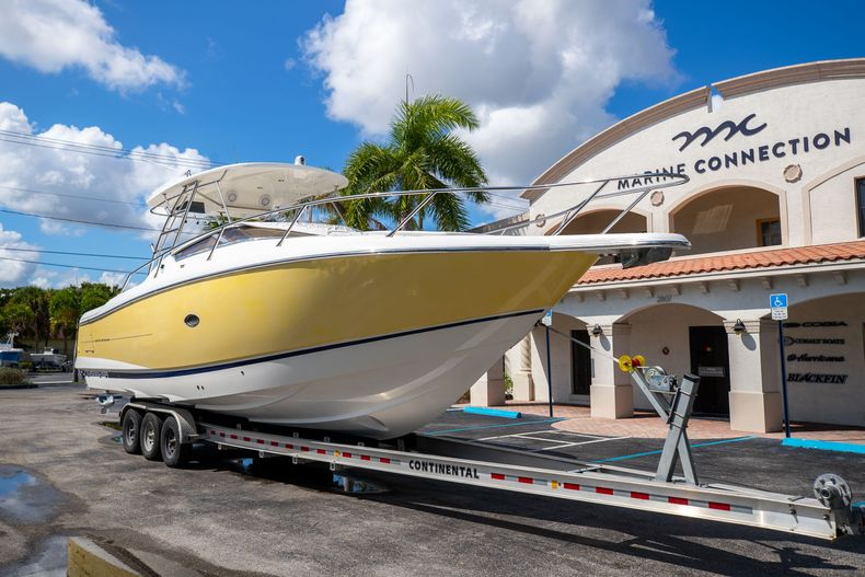 Thumbnail 1 for Used 2004 Sunseeker Sportfisher 37 boat for sale in West Palm Beach, FL
