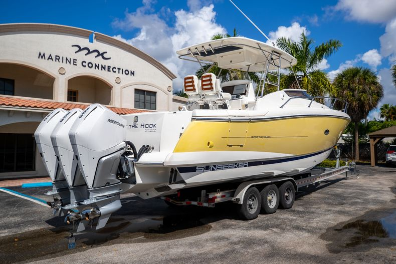 Thumbnail 10 for Used 2004 Sunseeker Sportfisher 37 boat for sale in West Palm Beach, FL