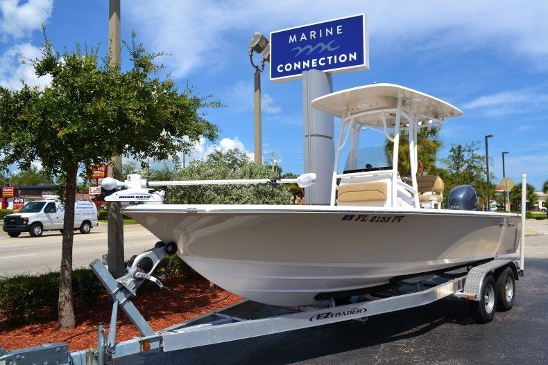 Thumbnail 1 for Used 2014 Sportsman Masters 227 Bay Boat boat for sale in Vero Beach, FL
