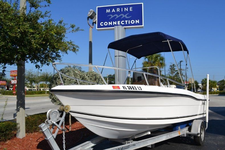 Thumbnail 1 for Used 2002 Angler 18 Center Console boat for sale in Vero Beach, FL