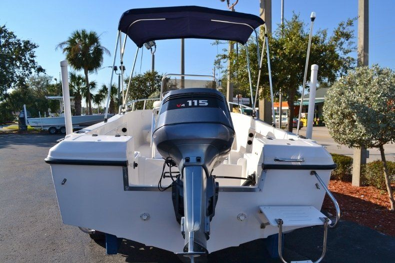 Thumbnail 4 for Used 2002 Angler 18 Center Console boat for sale in Vero Beach, FL
