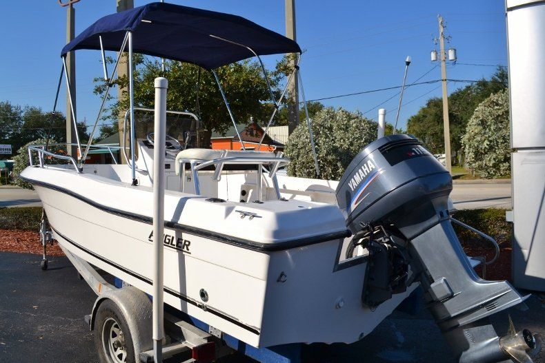 Thumbnail 3 for Used 2002 Angler 18 Center Console boat for sale in Vero Beach, FL