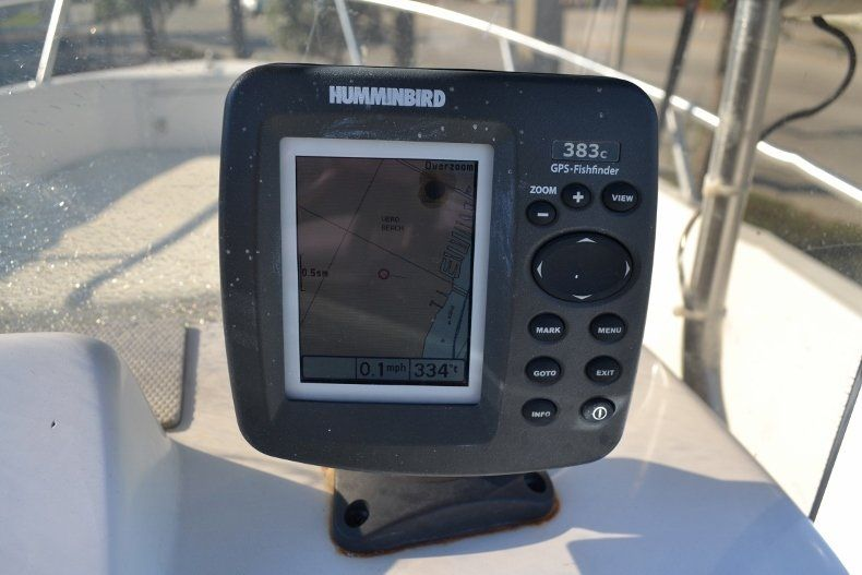 Thumbnail 9 for Used 2002 Angler 18 Center Console boat for sale in Vero Beach, FL