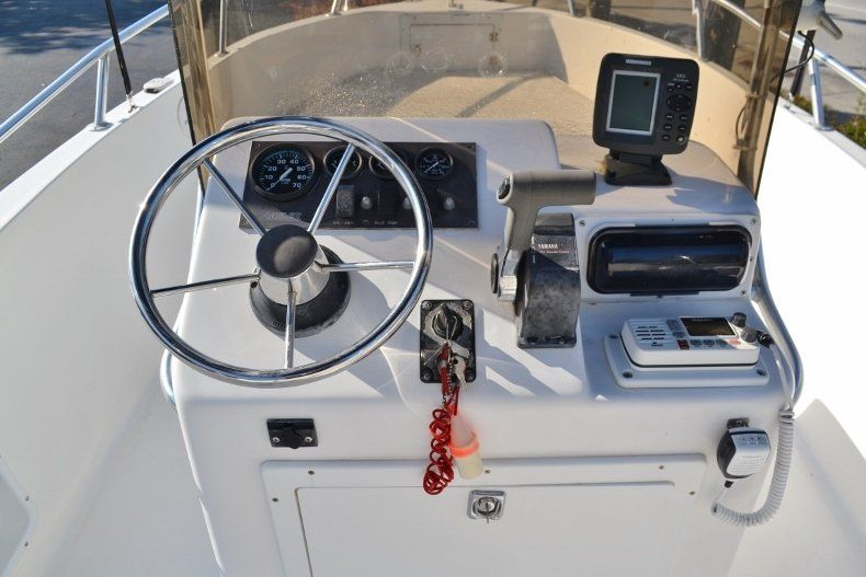 Thumbnail 8 for Used 2002 Angler 18 Center Console boat for sale in Vero Beach, FL