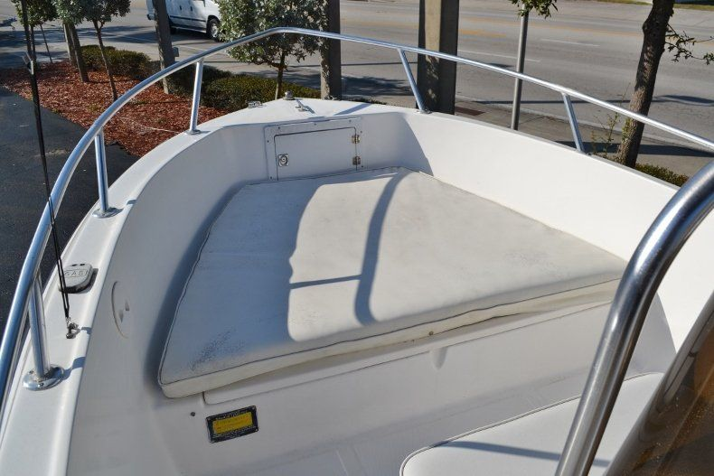 Thumbnail 11 for Used 2002 Angler 18 Center Console boat for sale in Vero Beach, FL