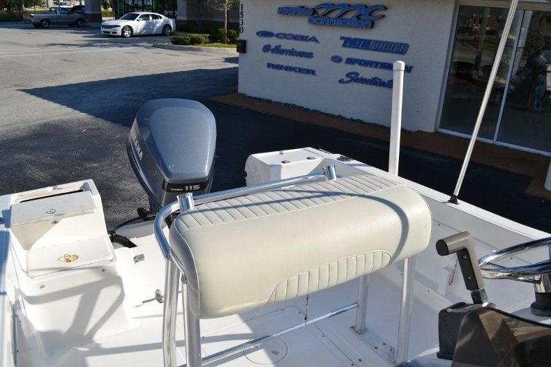 Thumbnail 15 for Used 2002 Angler 18 Center Console boat for sale in Vero Beach, FL
