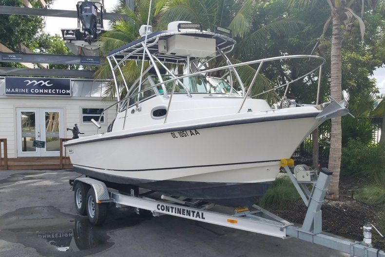 Thumbnail 1 for Used 2006 Boston Whaler 205 Conquest boat for sale in Islamorada, FL
