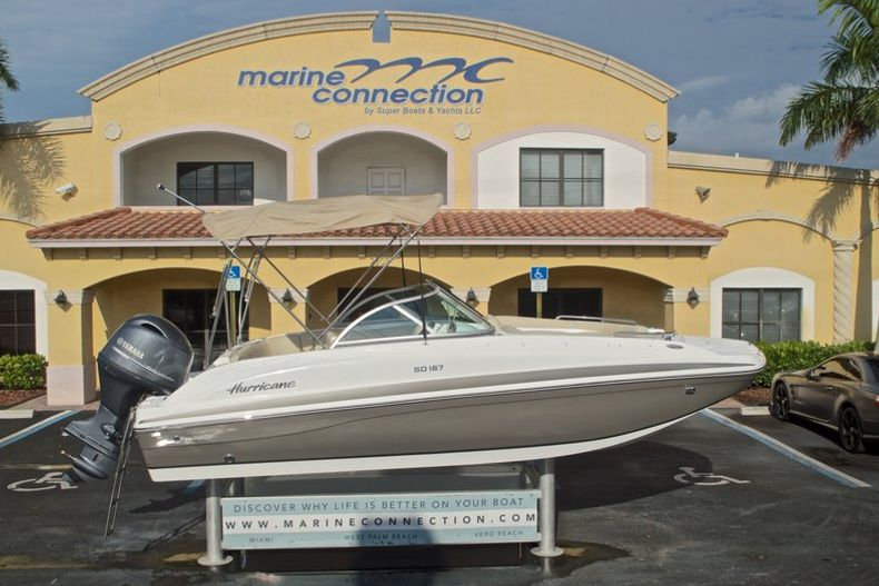 New 2017 Hurricane SunDeck SD 187 OB boat for sale in West Palm Beach, FL