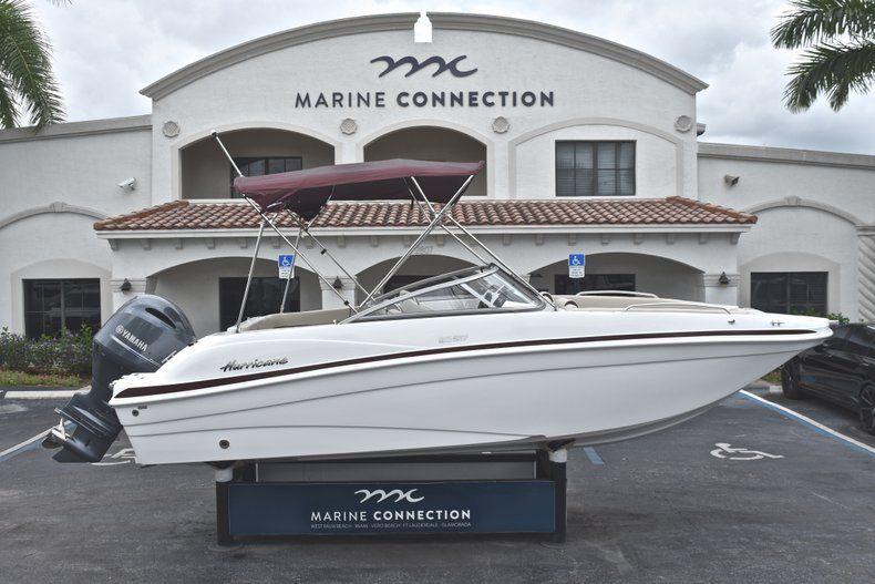New 2019 Hurricane 217 SunDeck OB boat for sale in Vero Beach, FL