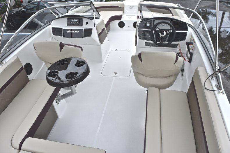 Thumbnail 9 for New 2019 Hurricane 217 SunDeck OB boat for sale in Miami, FL