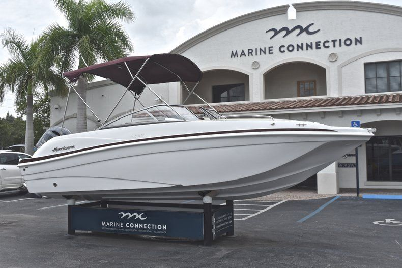 Thumbnail 1 for New 2019 Hurricane 217 SunDeck OB boat for sale in Miami, FL