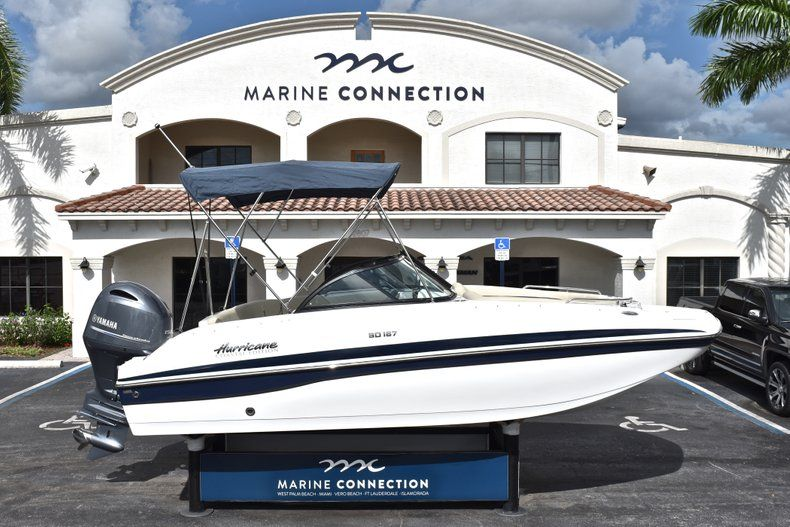 New 2019 Hurricane SunDeck SD 187 OB boat for sale in West Palm Beach, FL