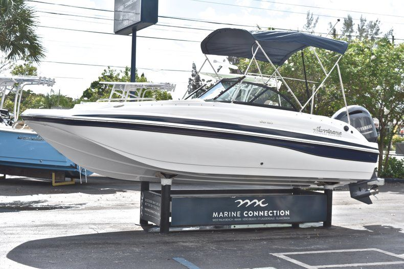 Thumbnail 3 for New 2019 Hurricane SunDeck SD 187 OB boat for sale in West Palm Beach, FL