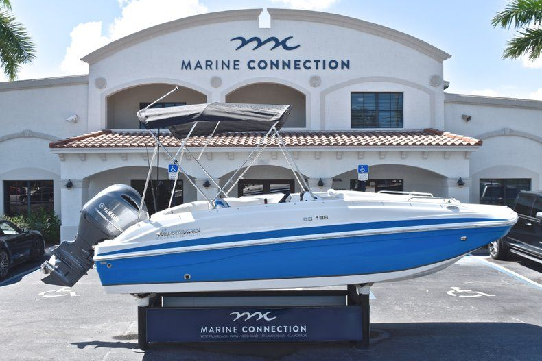 New 2019 Hurricane 188 SunDeck Sport OB boat for sale in Vero Beach, FL