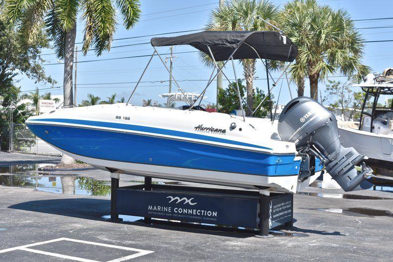 Thumbnail 5 for New 2019 Hurricane 188 SunDeck Sport OB boat for sale in Vero Beach, FL