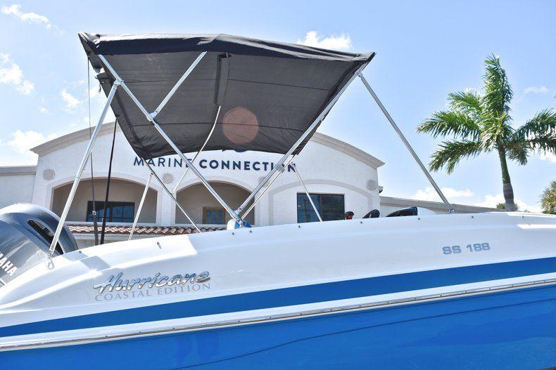 Thumbnail 8 for New 2019 Hurricane 188 SunDeck Sport OB boat for sale in Vero Beach, FL