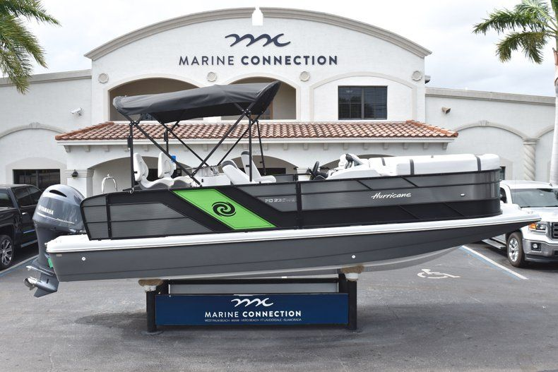 New 2019 Hurricane FunDeck FD 236 Wet Bar OB boat for sale in West Palm Beach, FL