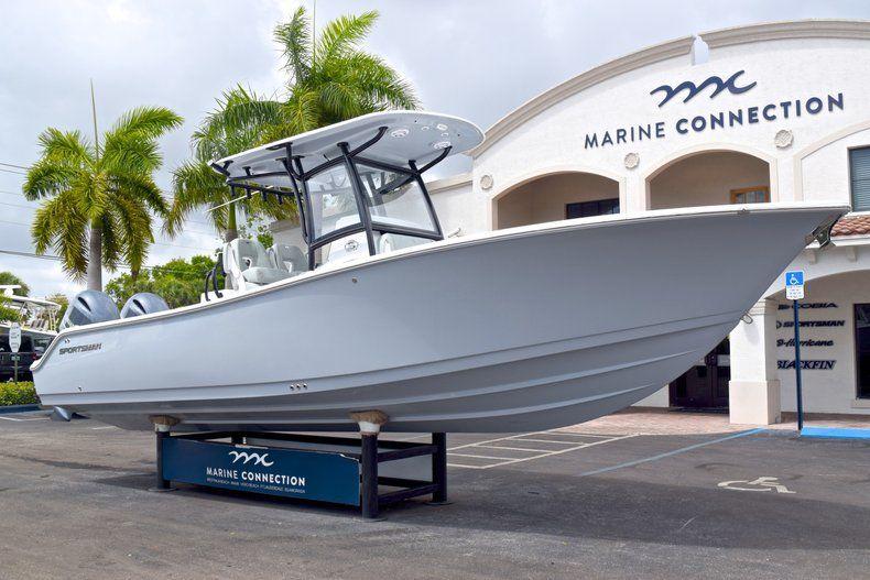 Thumbnail 1 for New 2019 Sportsman Open 282 TE Center Console boat for sale in Vero Beach, FL