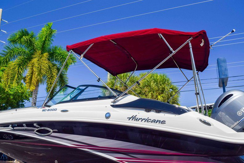 Thumbnail 50 for New 2019 Hurricane SunDeck SD 2000 OB boat for sale in West Palm Beach, FL