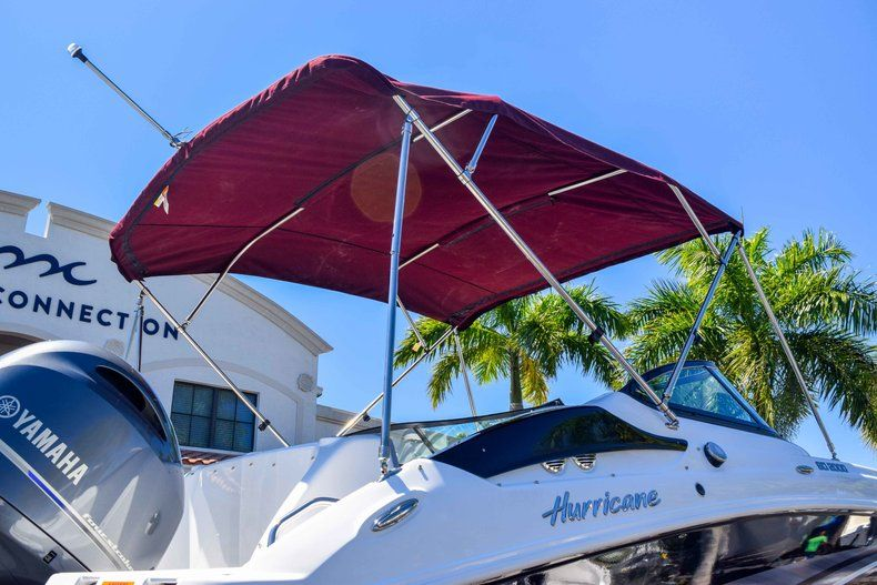 Thumbnail 51 for New 2019 Hurricane SunDeck SD 2000 OB boat for sale in West Palm Beach, FL