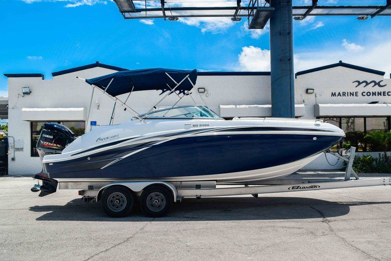 Image 0 for 2019 Hurricane SunDeck SD 2486 OB in West Palm Beach, FL