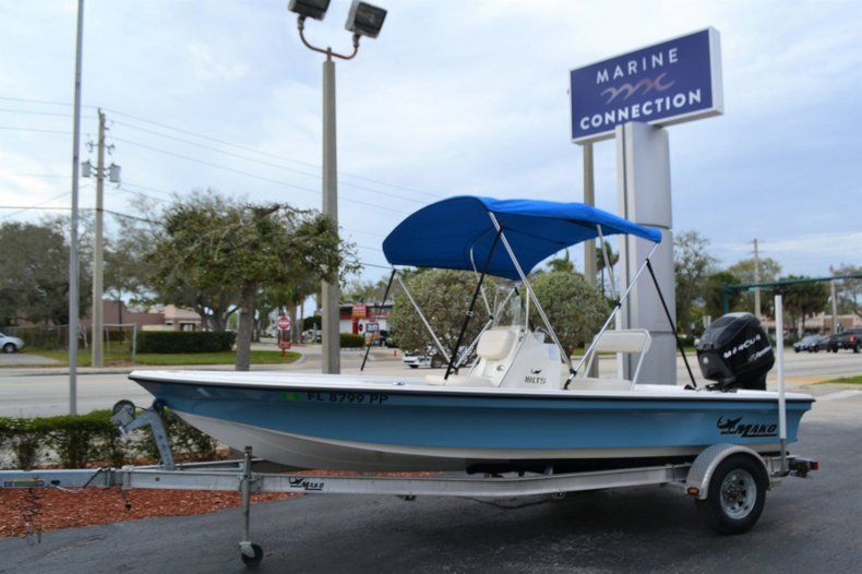 Thumbnail 0 for Used 2014 Mako 18 LTS boat for sale in Vero Beach, FL